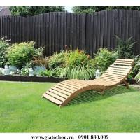 mua ghế tắm nắng gỗ giá rẻ