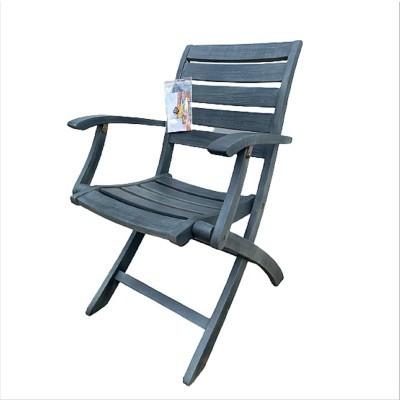 Ghế gỗ xếp có tay 01