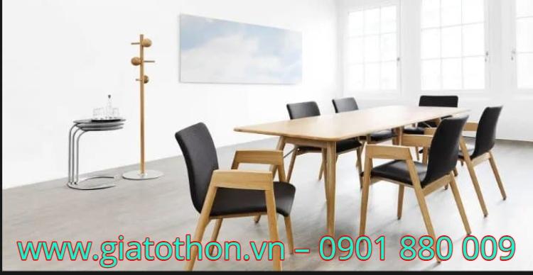 bàn ghế ăn bằng gỗ cao cấp