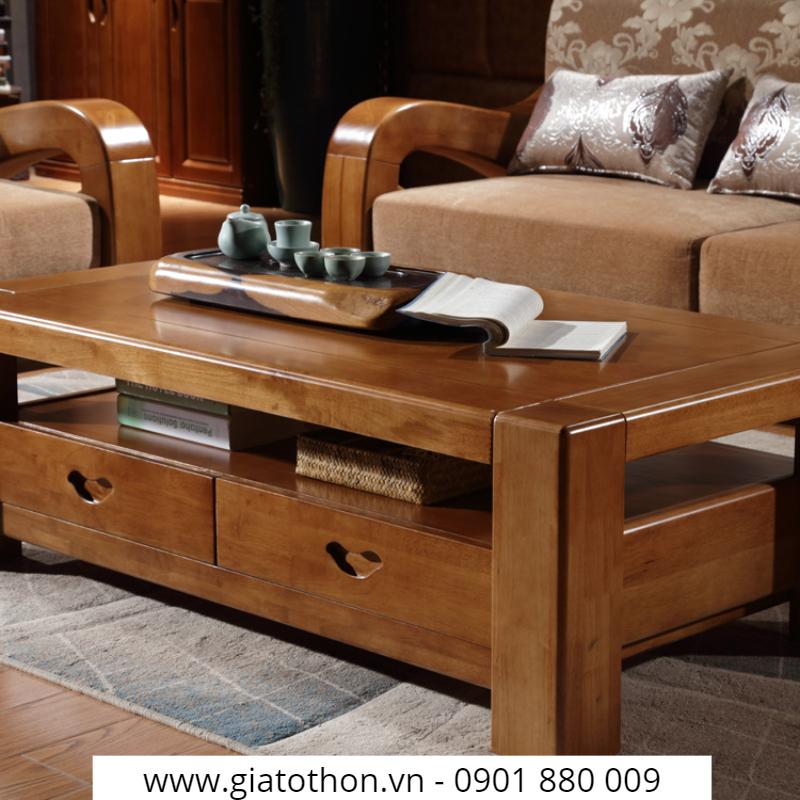 bàn ghế gỗ phòng khách chính hãng