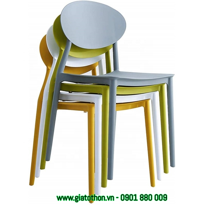 ghế nhựa cao cấp bền
