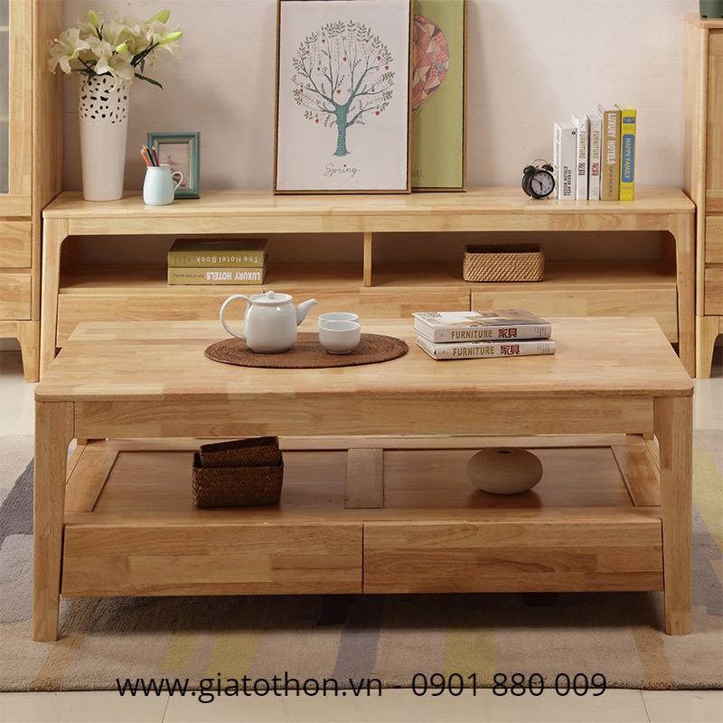 mẫu bàn ghế gỗ cafe đẹp