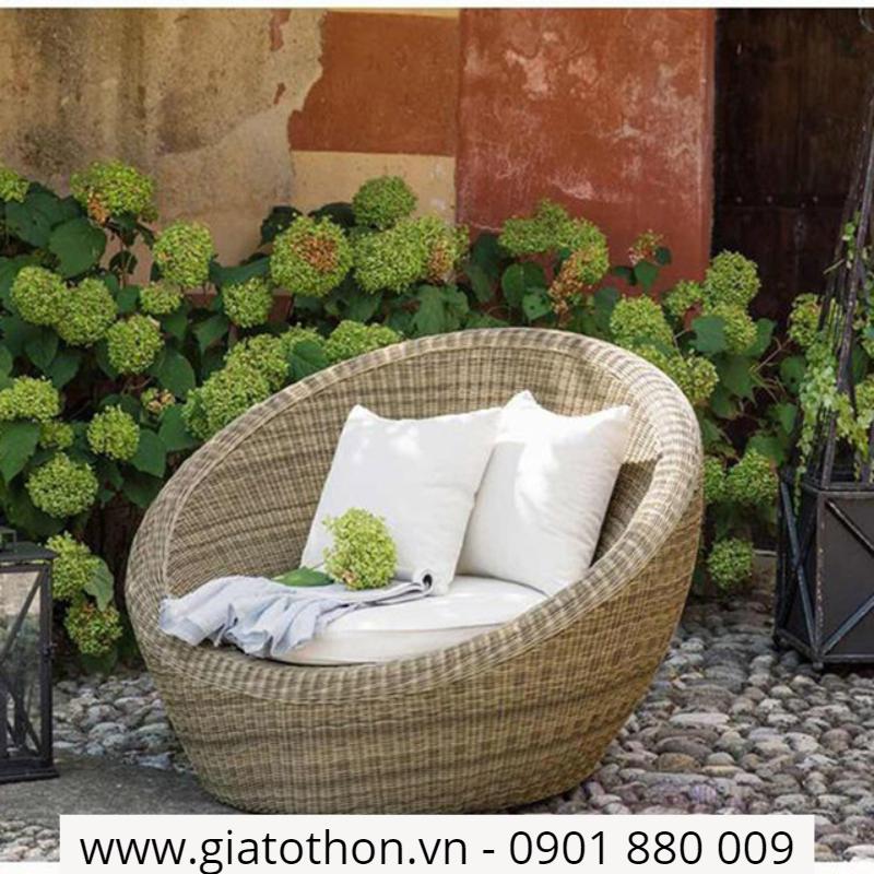 sofa mây nhựa giá rẻ tại hcm