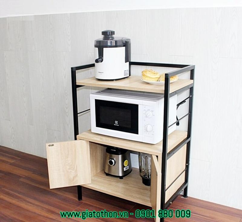 tủ bếp gỗ tự nhiên bền